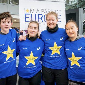 Schulen 1. European Youth Marathon Frankfurt 2018