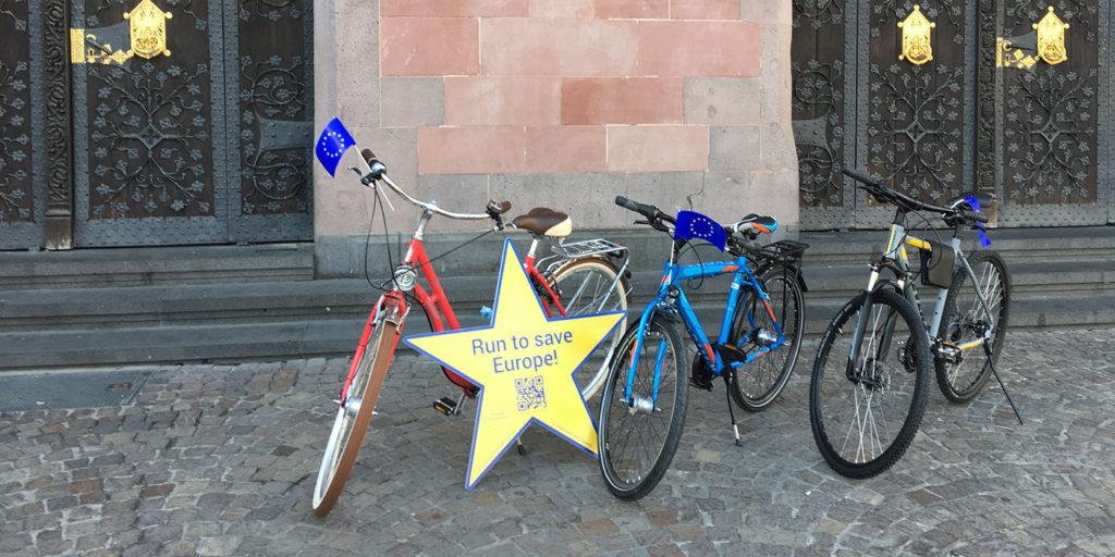 Fahrräder zu gewinnen