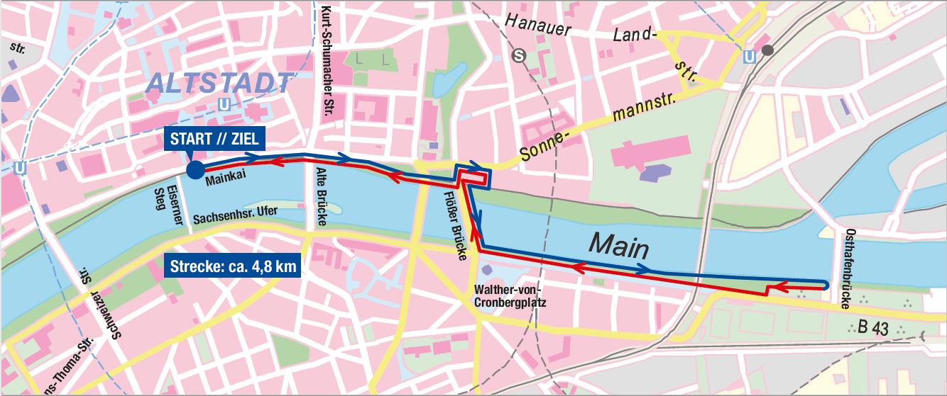 Streckenplan 2019