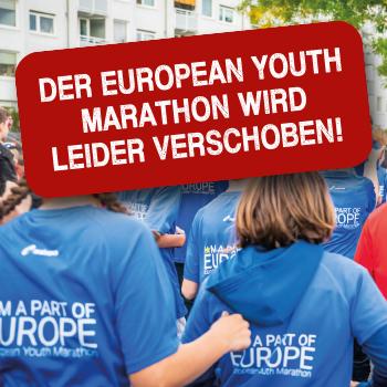 European Youth Marathon 2020 fällt aus